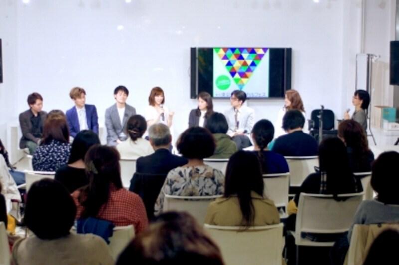 第三回東京ミュージカルフェス「ミュージカル・スペシャルトークショー」『オリジナル・ミュージカルに懸ける夢』写真提供:MusicalOfJapan