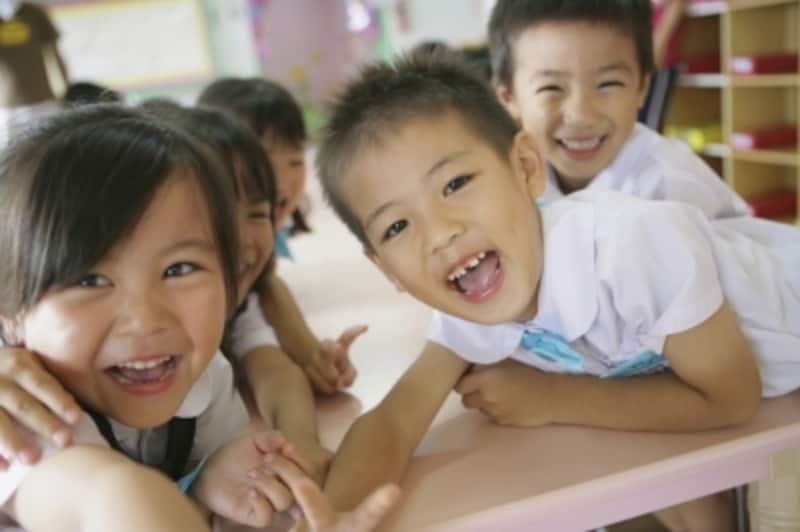 クラスメイトとの出会いもあり、幼稚園気分で通園できます。