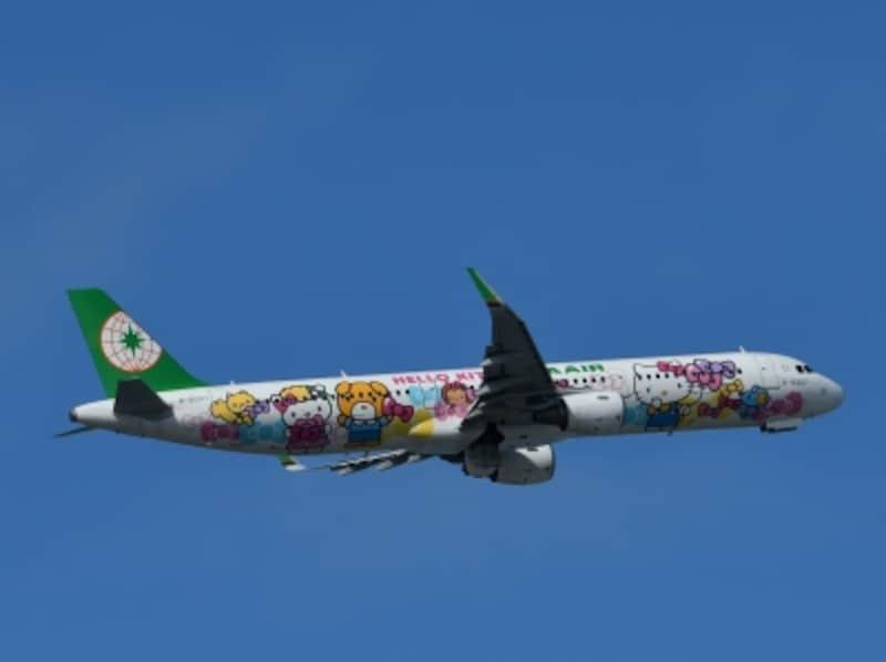 エバー航空,サンリオ