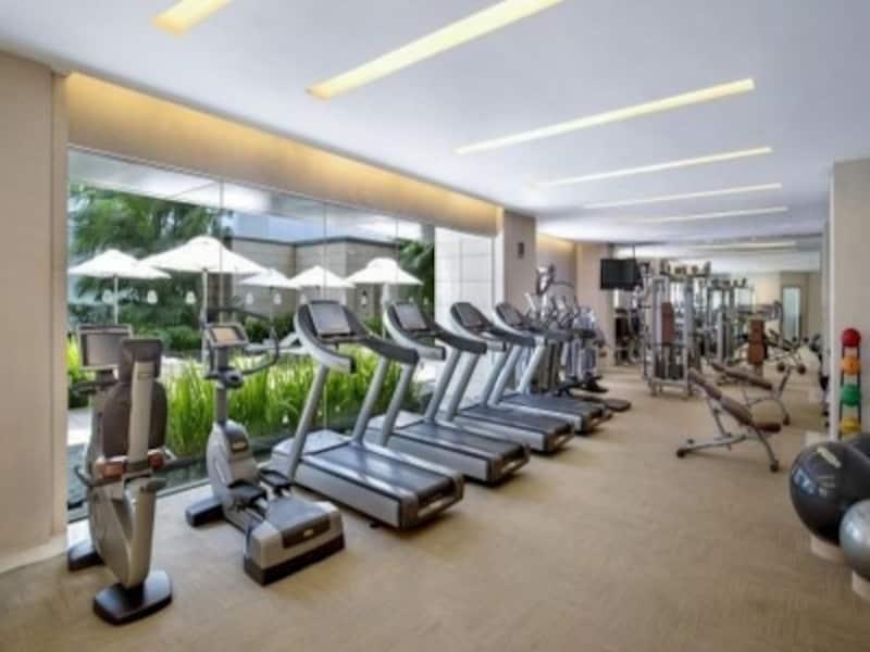 ホテルでもなるべく運動しましょう!
