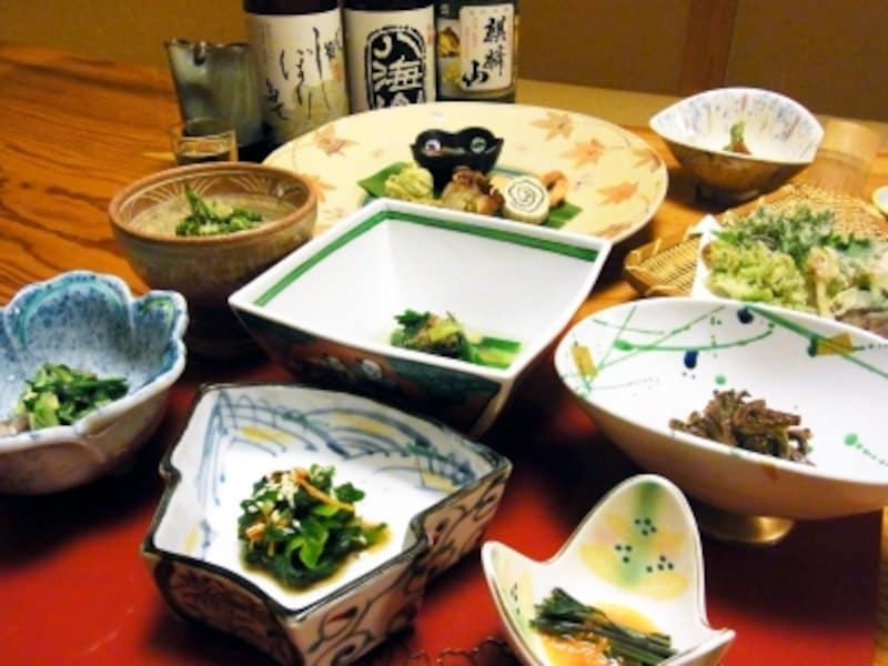 鷹ノ巣温泉.喜久屋.山菜料理