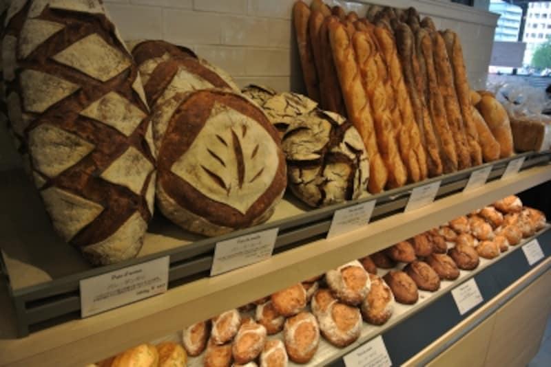 ハード系のパンもいろいろ