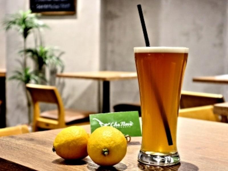 銀座の台湾茶カフェ「ChaNova」蜂蜜レモン緑茶