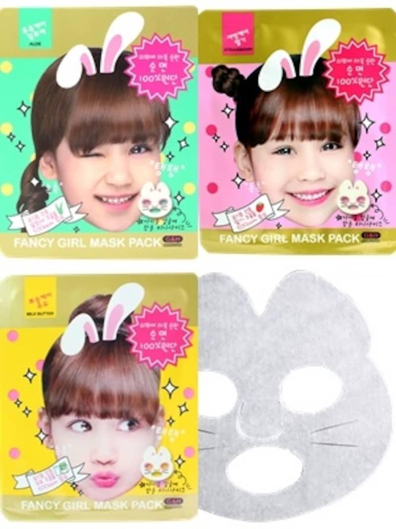 子供用のシートマスク