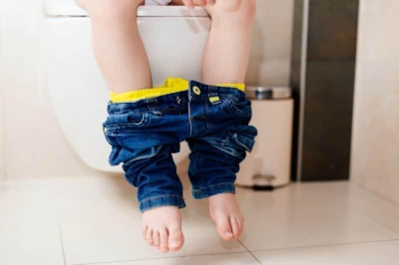 トイレの使い方に日頃の家庭での様子や親のしつけの差が見えてくるものです