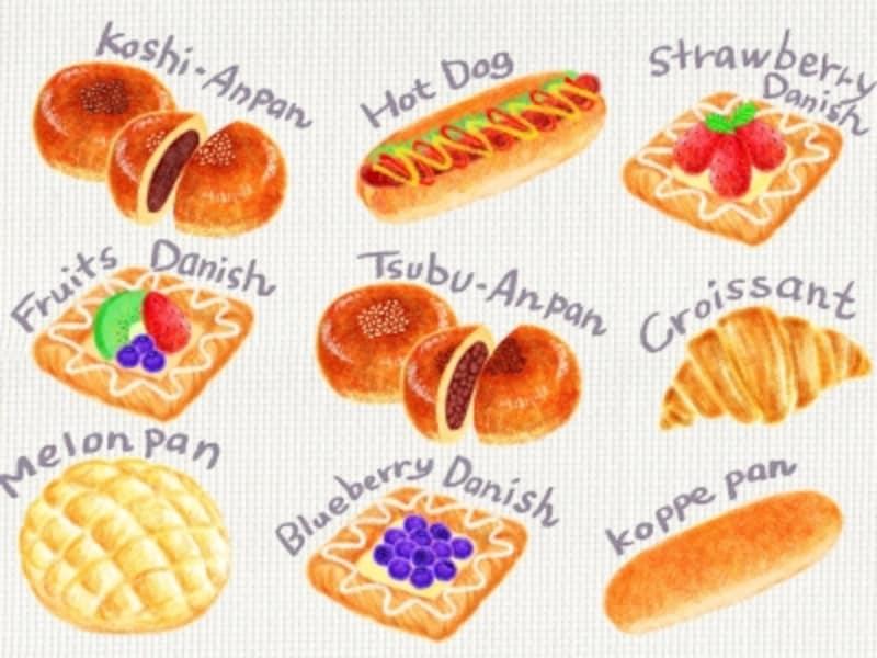 ついつい手が伸びる、甘くておいしい菓子パン。やっぱりダイエットの大敵なの?