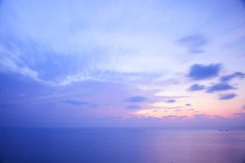 東シナ海の夕景