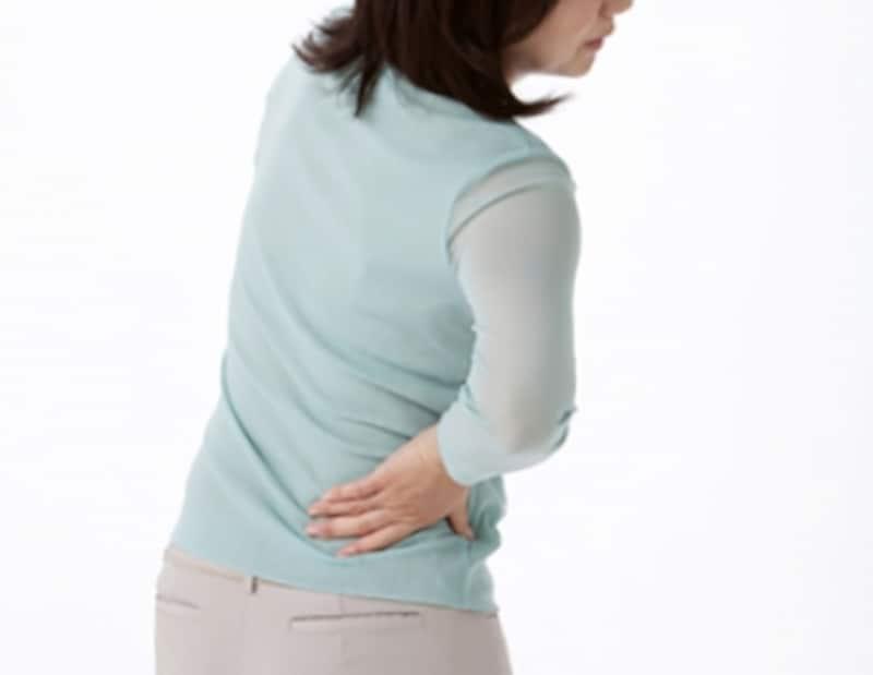 痛みで日常生活に支障をきたすこともあります