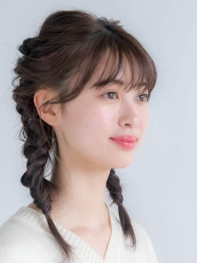 ライブ髪型・ヘアアレンジ