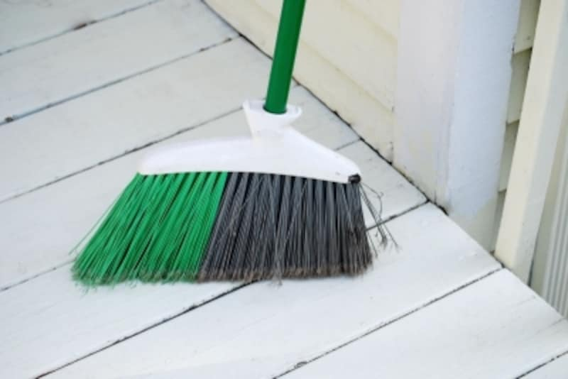 掃除アイテムは、一度買ったら何年も使う?