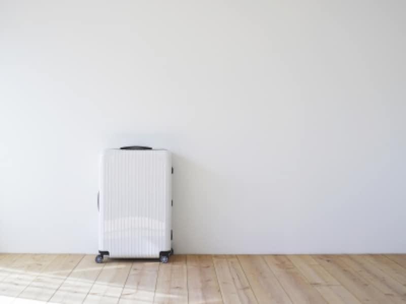 スーツケースのサイズ選び