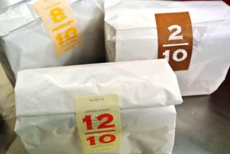 食パンは国産小麦の特徴を生かした3種類