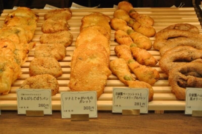 新食感。きんぴらごぼうパン