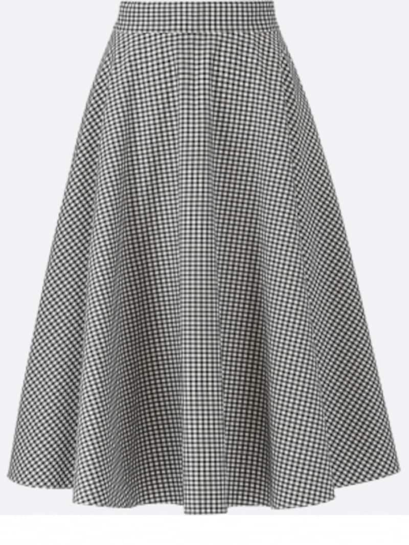 ユニクロサーキュラースカート2990円