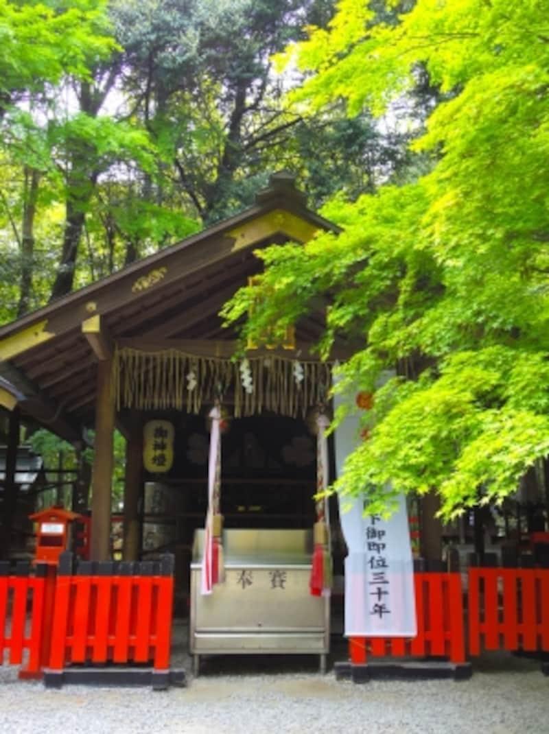 野宮神社の本殿