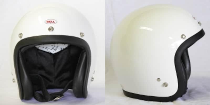 コンパクトなシルエットを意識したプロダクトが魅力のBELLの中でもとりわけ人気が高いジェットヘルメット[500-TX]の復刻モデルである[BELL500-TXJ]