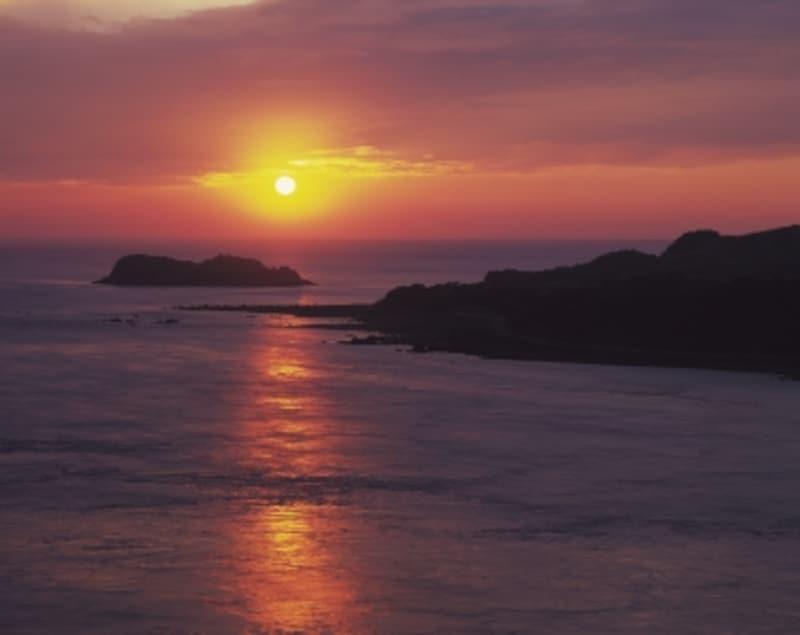 黒之瀬戸の夕景