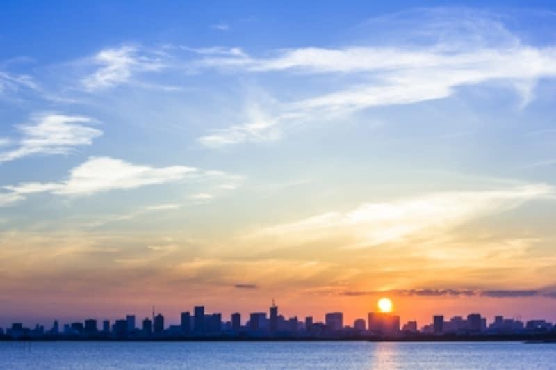 1年で最も日が長い夏至、1年で最も日が短いのが冬至