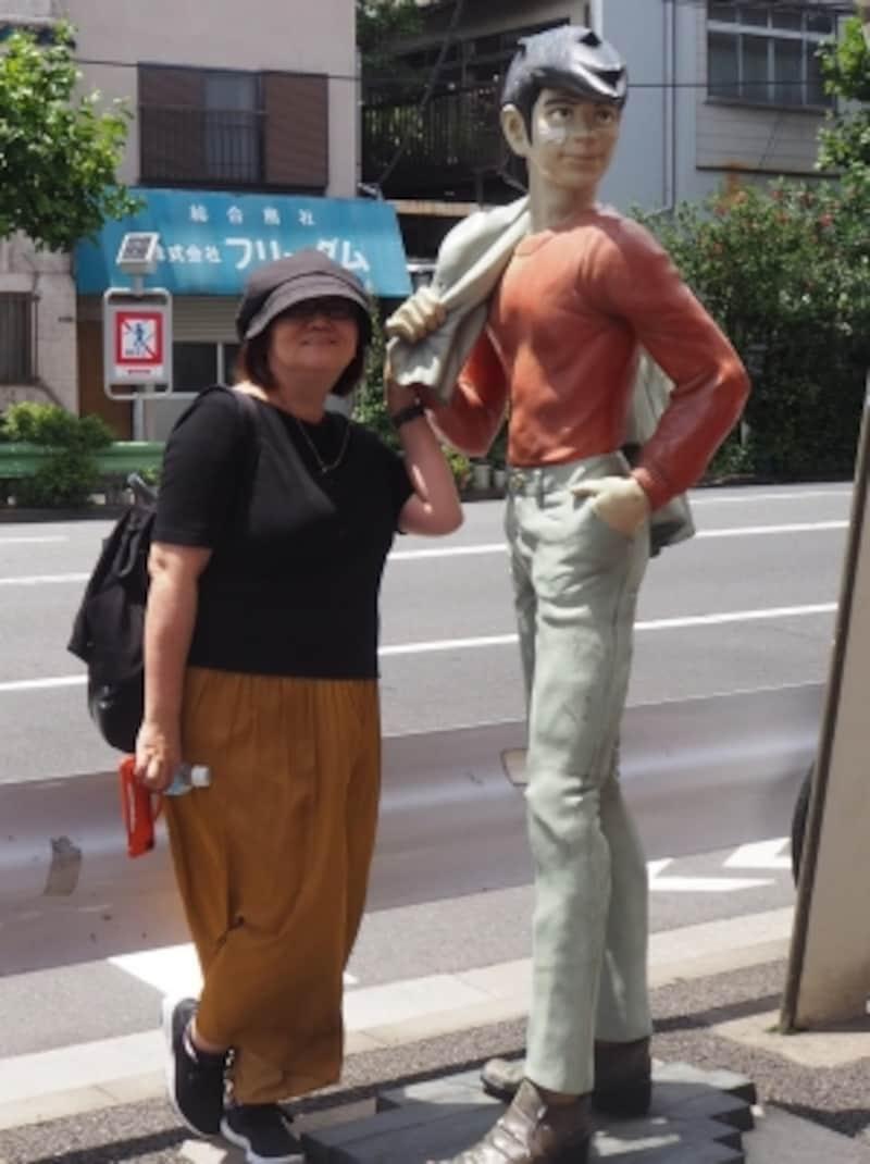 東京・今戸神社周辺、このあたりはコミック「あしたのジョー」の舞台になっている