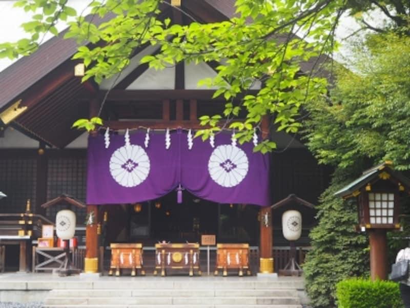 日本の伝統のなかに新しさのある神社だ
