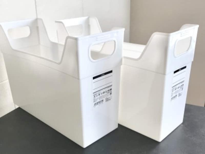100均の収納ボックス:キャンドゥ「ファイルボックス」