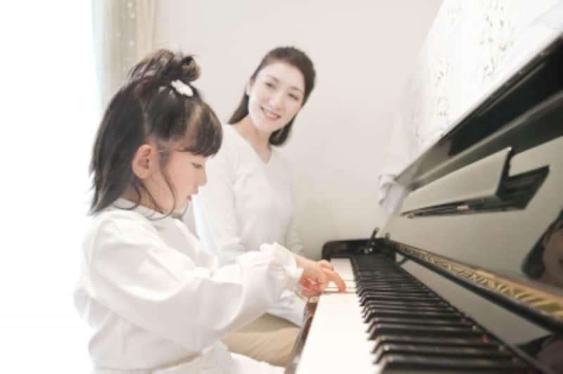 子供向けピアノレッスン