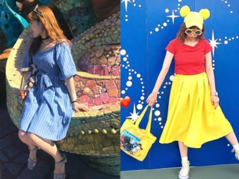 ディズニー服装