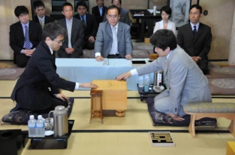 タイトル戦/撮影:伊賀本悟氏