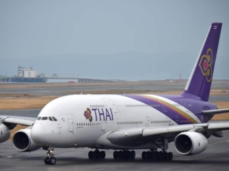 タイ国際航空,A380