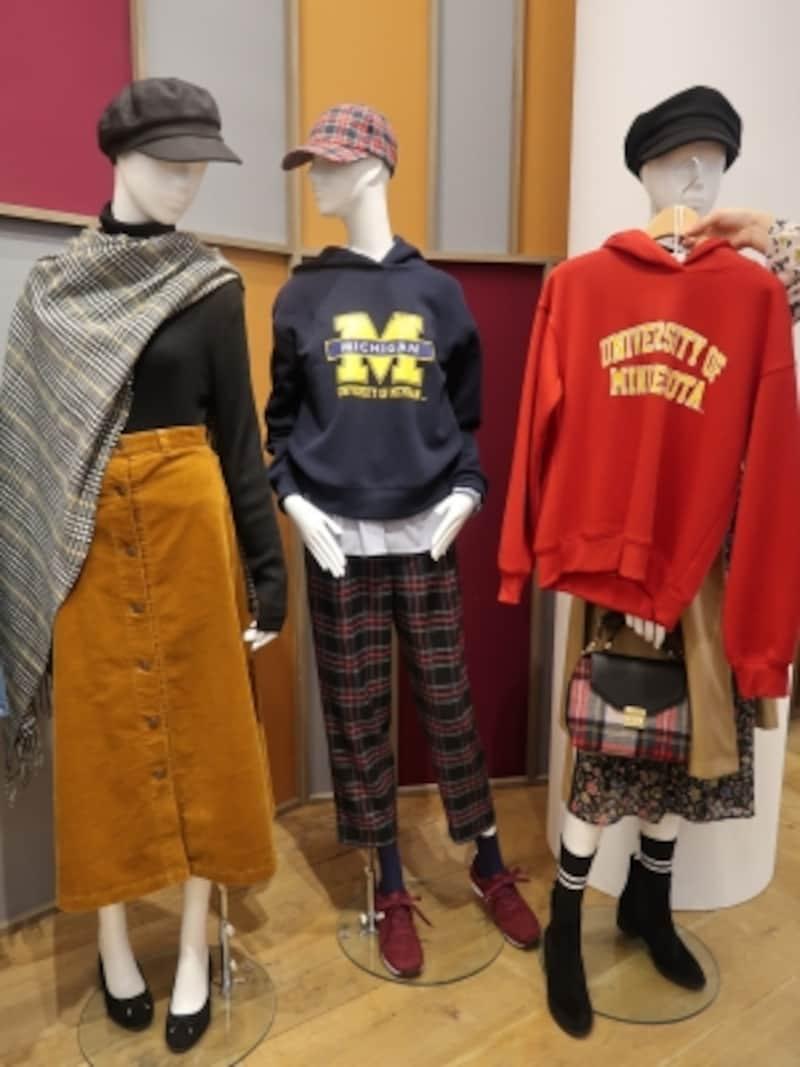 ミシガン大学、ニューヨーク大学などとコラボしたカレッジスウェットに注目