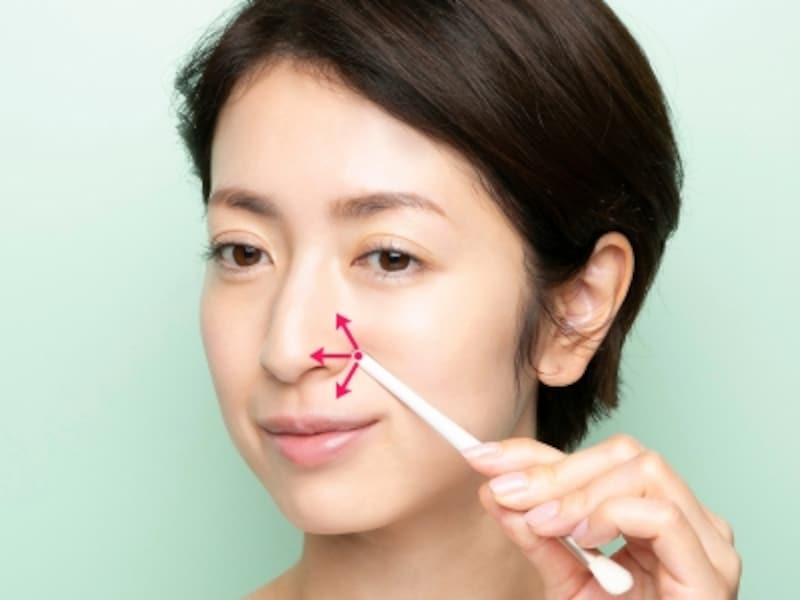 小鼻の横に痛気持ちいい部分がある