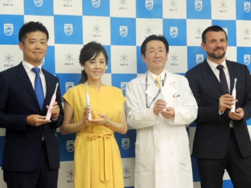 高橋真麻さん、昭和大学の真鍋教授をゲストに招いたトークセッションで新シリーズをお披露目