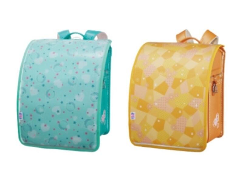 大人気の「ポッピングシャワー」(左)と新色の「オレンジソルベ」。カバーの着脱だけでイメージもがらりと変わります