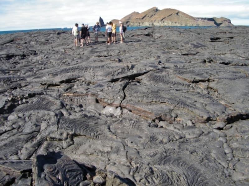 バルトロメ島の溶岩地形