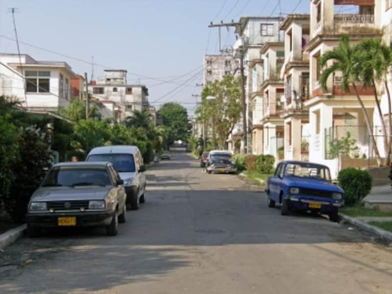 ハバナの住宅地