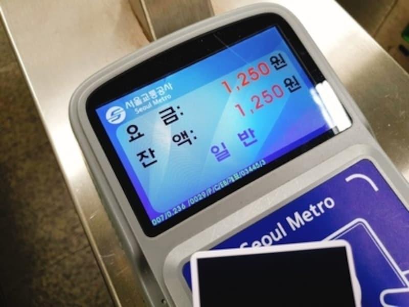 ソウルの地下鉄に乗ってみる