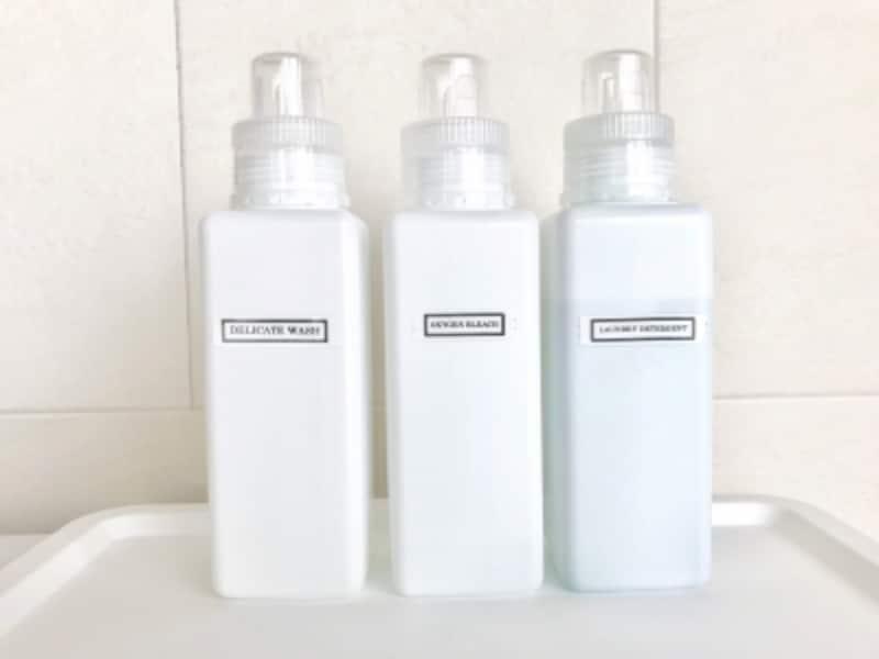 セリアの洗剤詰め替えボトル