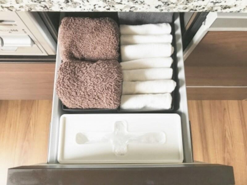キッチンの引き出し内をスッキリと整える