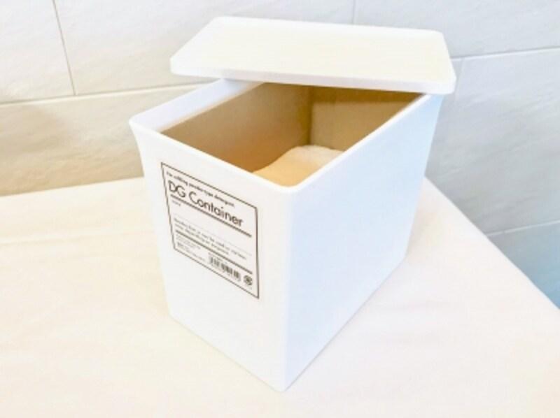 おしゃれな粉末洗剤用のボックス