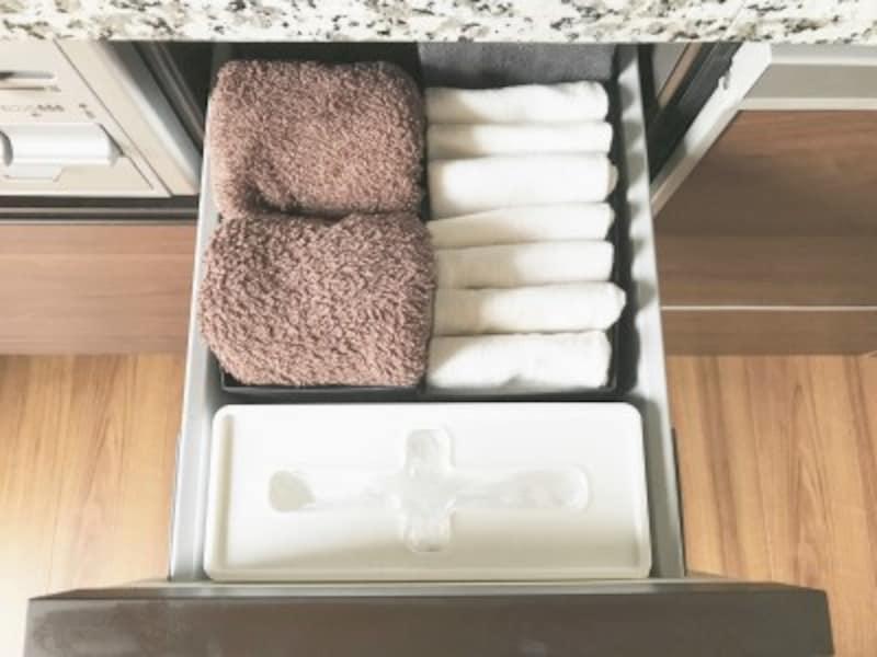 セリアのおすすめ収納グッズ:キッチンの引き出し内をスッキリと整える