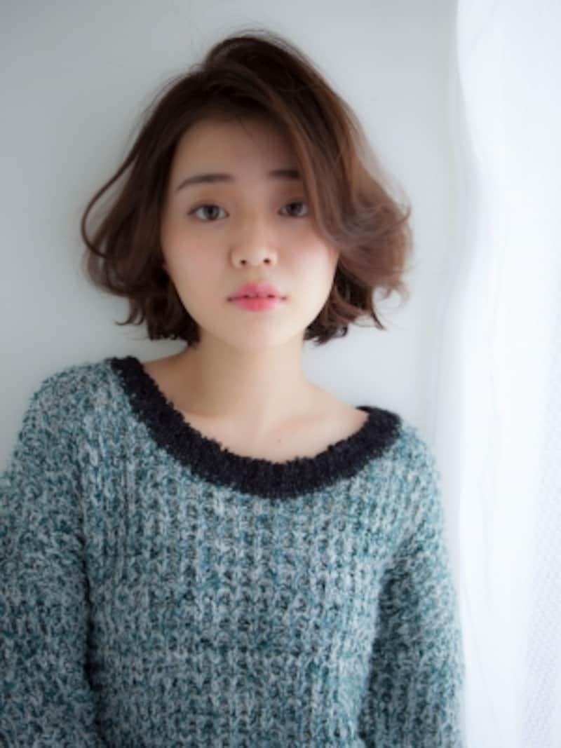 石田ゆり子風の髪型!大人に似合うやわらかボブヘアスタイル