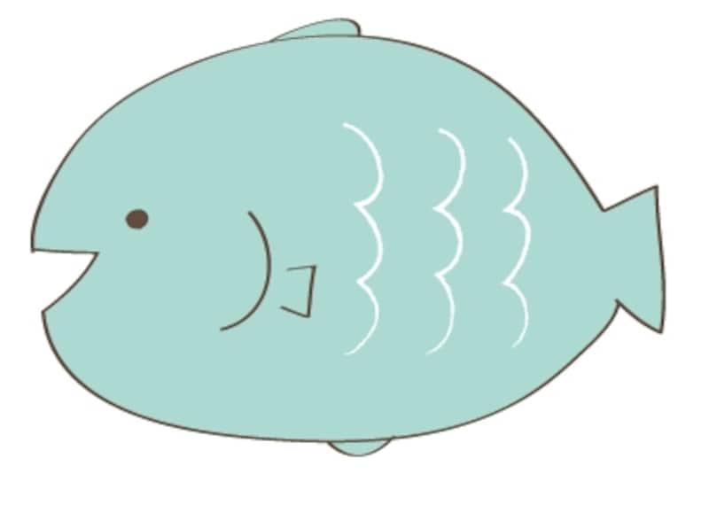 カラーundefined魚undefined夏undefinedイラストundefinedフリーundefinedかわいい
