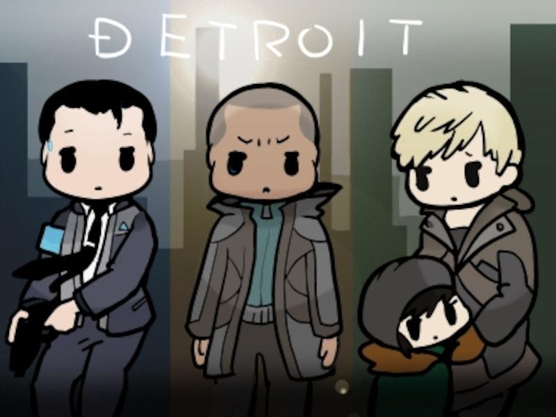 デトロイトの図