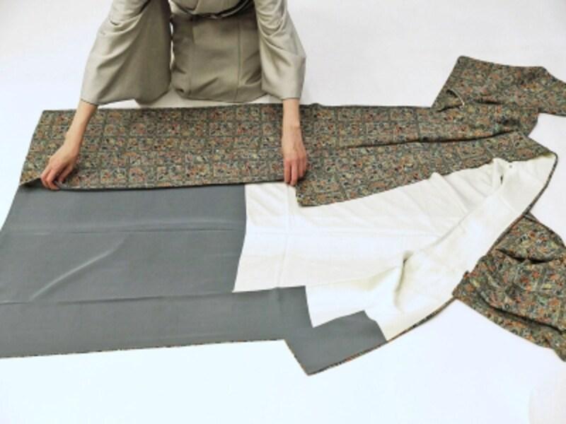 着物・浴衣の畳み方1