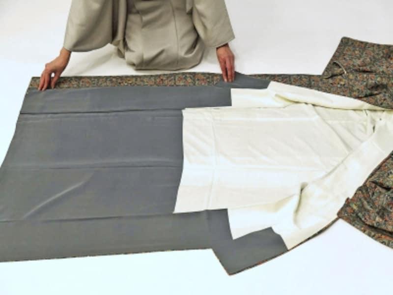 着物・浴衣の畳み方2