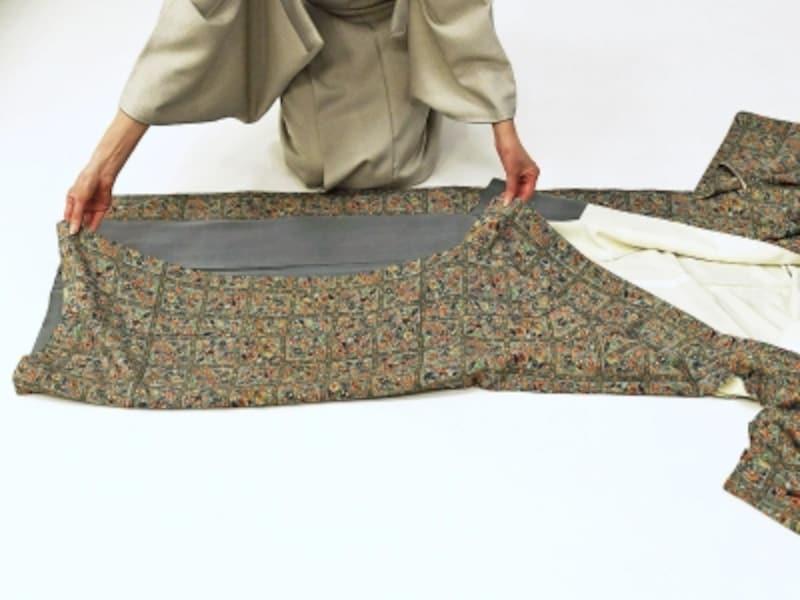 着物・浴衣の畳み方3