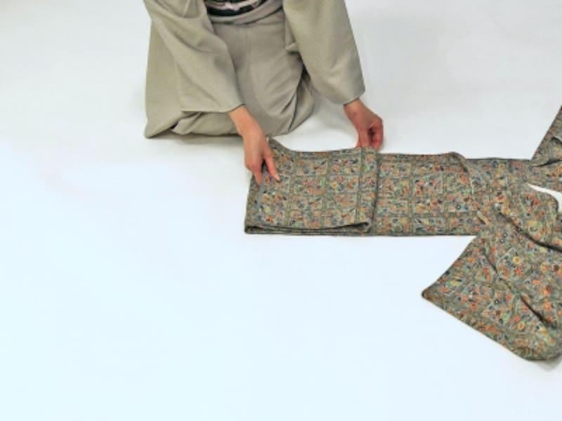 着物・浴衣の畳み方7