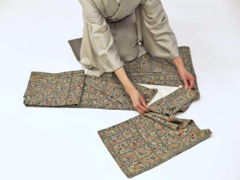 着物・浴衣の畳み方8