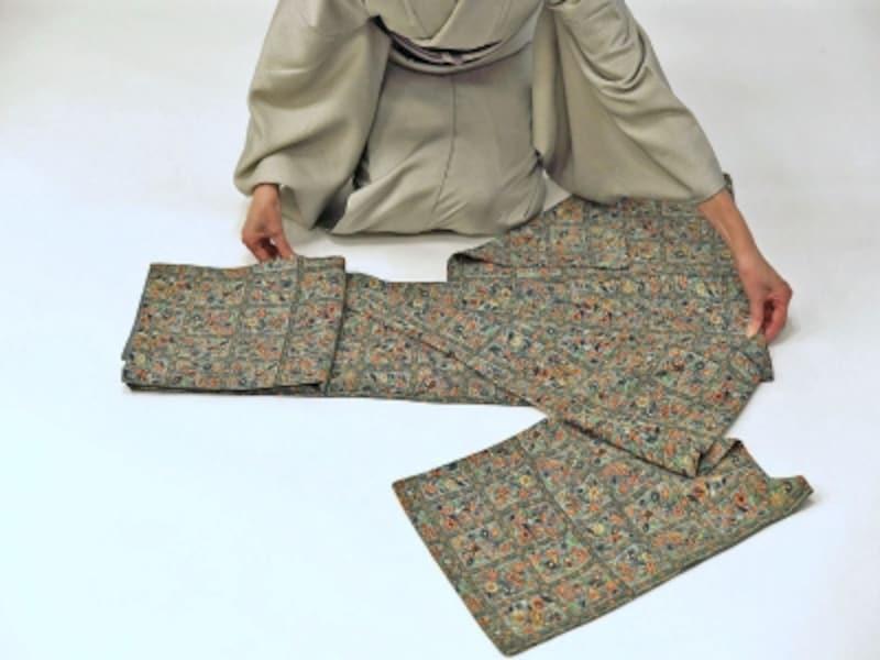 着物・浴衣の畳み方9