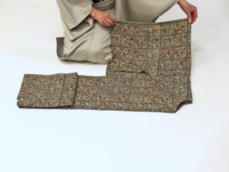 着物・浴衣の畳み方10